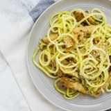 "Lemon Parmesan Zucchini ""Noodles"" With Roasted Artichokes Are a Healthy Dream"
