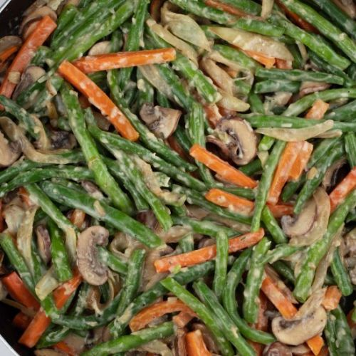Creamy Healthy Green Beans Recipe