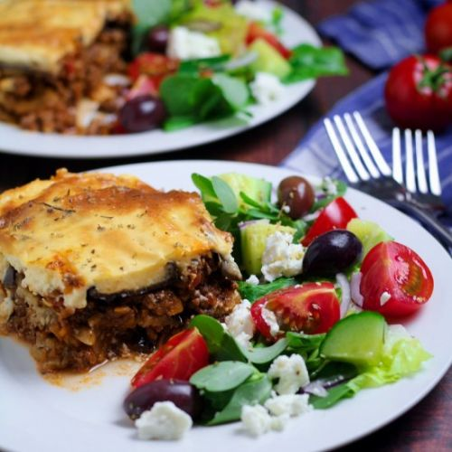 Moussaka - Greek Eggplant Casserole