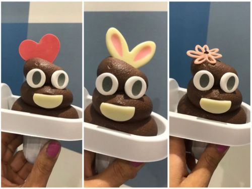 Poop Emoji Soft-Serve Is All the Rage in Tokyo