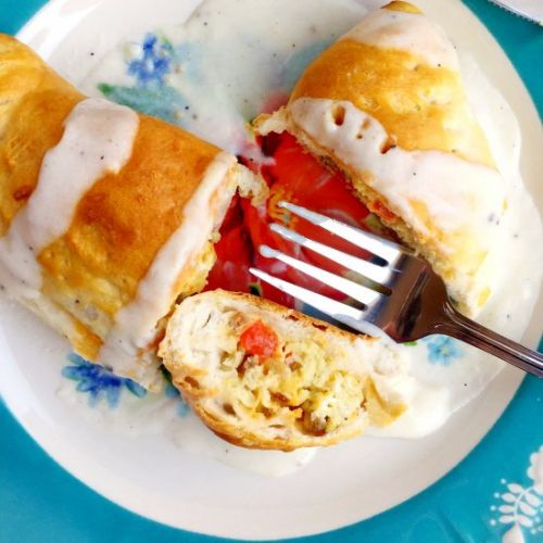 Breakfast Biscuit Pockets