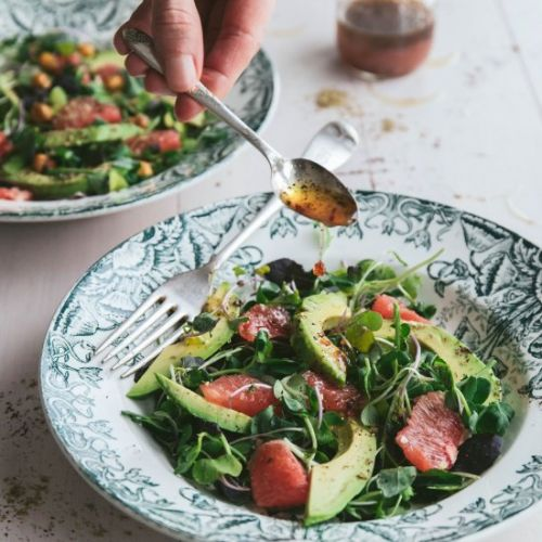GRAPEFRUIT AND AVOCADO SALAD