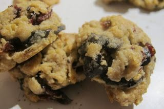 Oatmeal Cookies with Dried Cranberries, Chocolate Chips, Pecans, and Toffee Bits