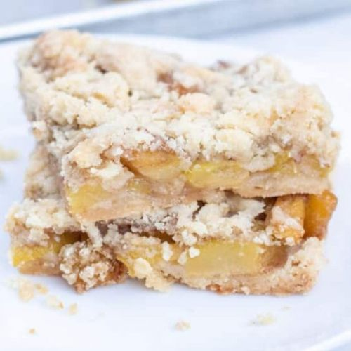 Zucchini Apple Bars