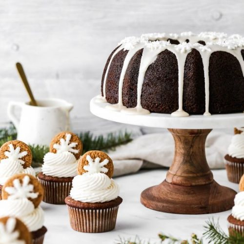 Gingerbread Cupcakes and Cake