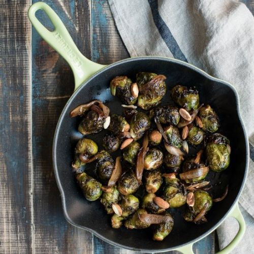 Apple Cider Brussels Sprouts