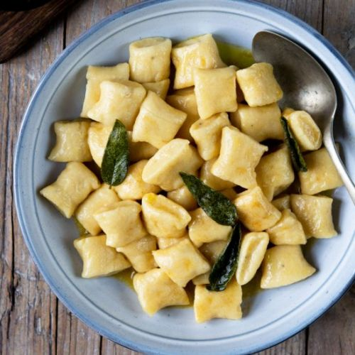 Gnocchi Brown Butter Sage Sauce