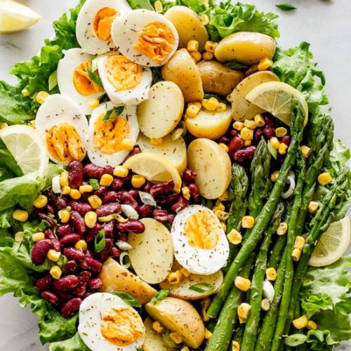 Spring Vegetable Potato Salad