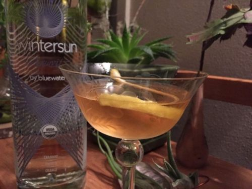 What I'm Drinking: Walking Through the Shrubbery with Wintersun Aquavit