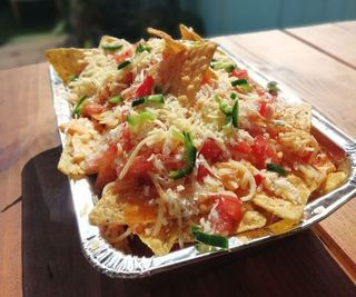 Smokey Three Cheese Nachos