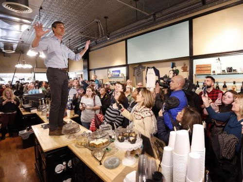 Beto O'Rourke's Presidential Platform Is Actually a Restaurant Countertop
