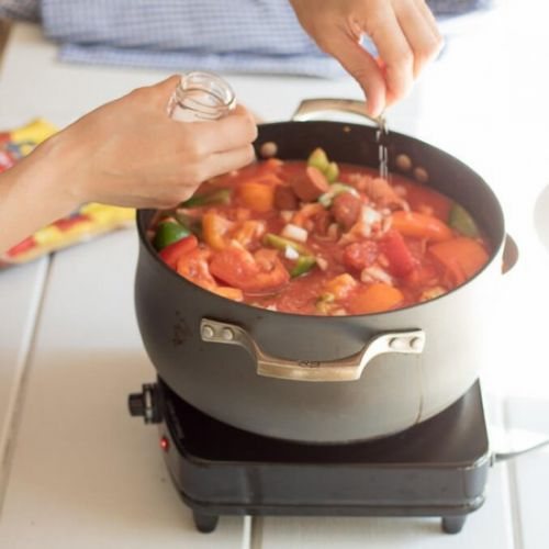 Franks and Peppers Stew Recipe
