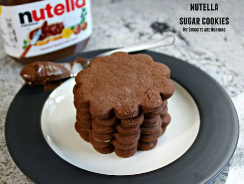Nutella Sugar Cookies