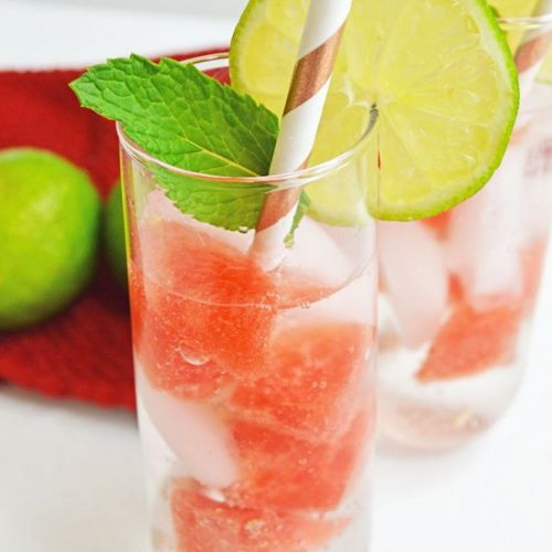 Refreshing Watermelon Mojito