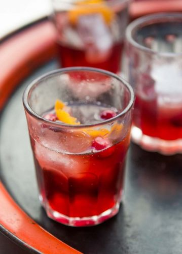 Cranberry Auberge cocktail