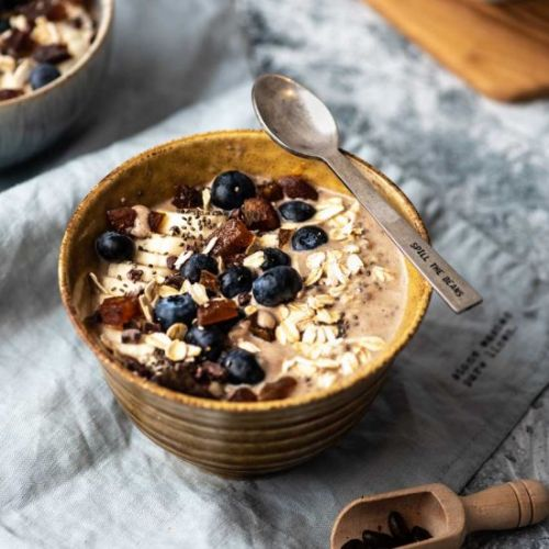 Cappuccino Overnight Oats