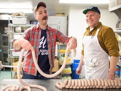 Watch: Turning a Bacon, Egg, and Cheese Sandwich Into a Sausage Link