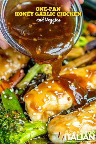 One-Pan Honey Garlic Chicken and Veggies