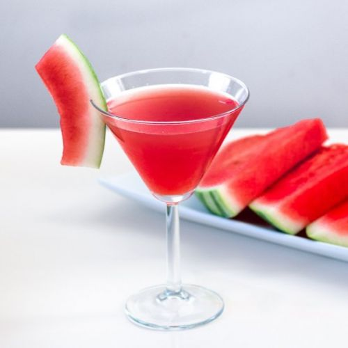 Organic Watermelon Cucumber Martini