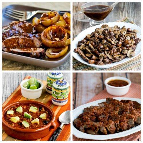 Low-Carb and Keto Slow Cooker Recipes with Beef
