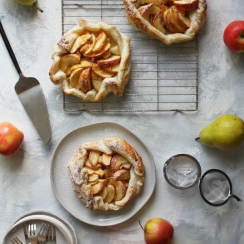 Vegan Apple Crostata