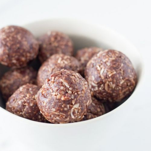 Coconut Rough Bliss Balls