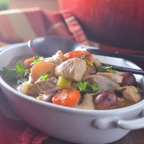 GF Chicken & Vegetable Stew