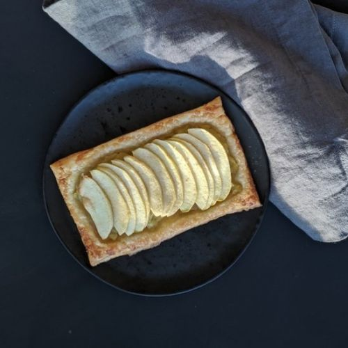 French Apple Tart for Two