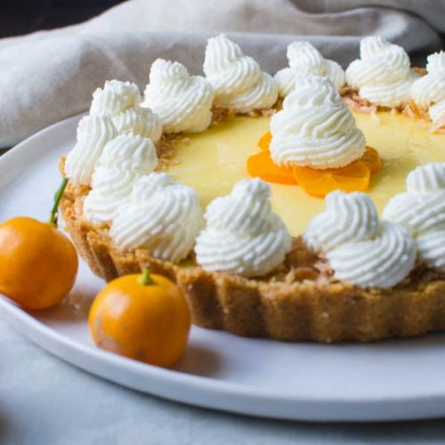 Sweet Tart Calamondin Pie
