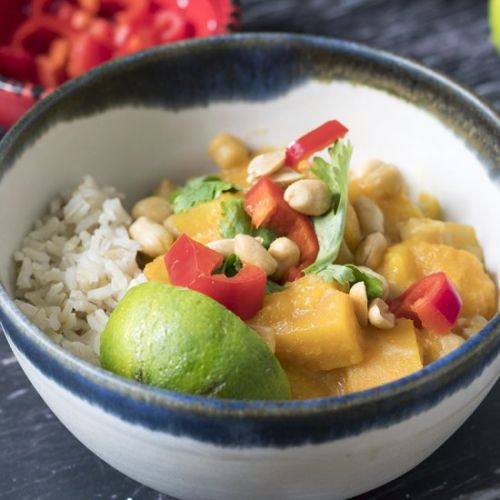 Easy Thai butternut squash curry