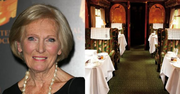 You Can Now Enjoy Afternoon Tea On a Train Hosted By a Great British Bake Off Star