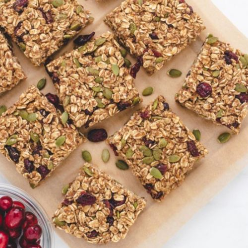 Orange Cranberry Oatmeal Bars