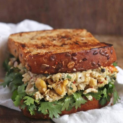 Vegan Chickpea Sandwich