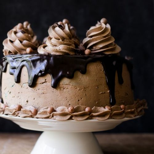Coffee Whiskey Cake
