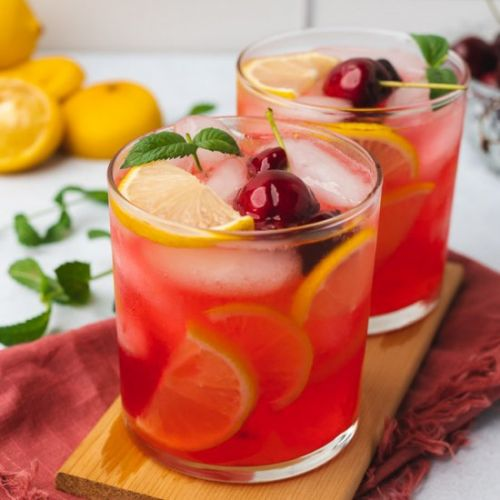 Sugar Free Cherry Lemonade