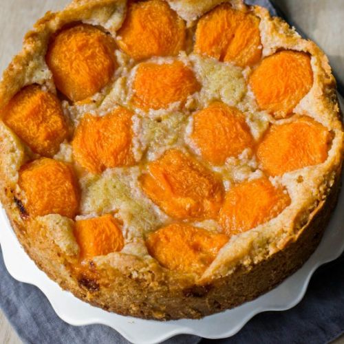 Dutch apricot butter cake
