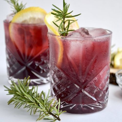 Elderberry Immune Boosting Cocktail