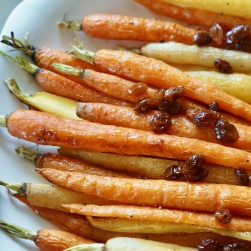 Spring Sunshine Carrots