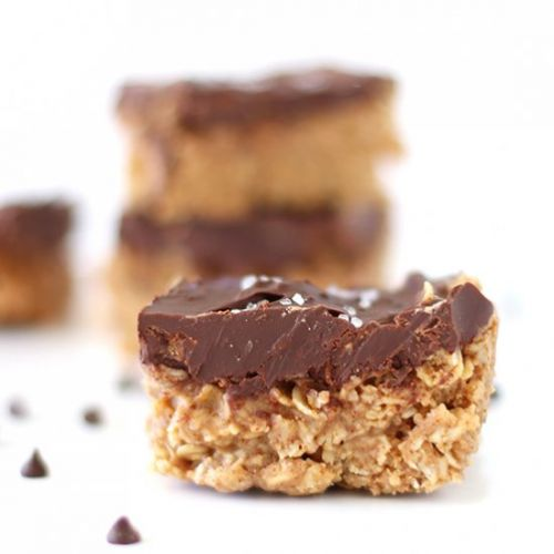 Chocolate Almond Butter Oatmeal Bar