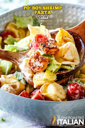Po' Boy Shrimp Pasta Salad