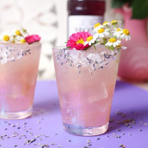 Lavender Meyer Lemon Margarita