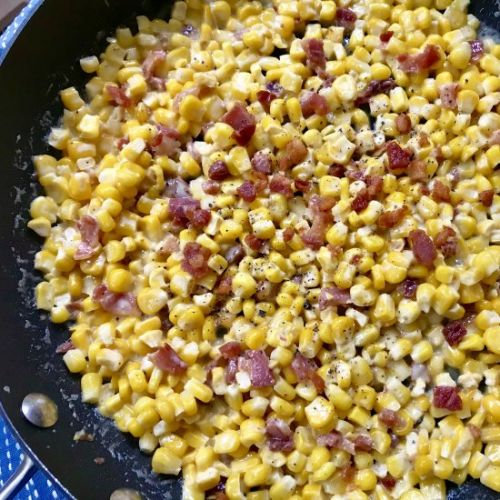 Corn with Pancetta