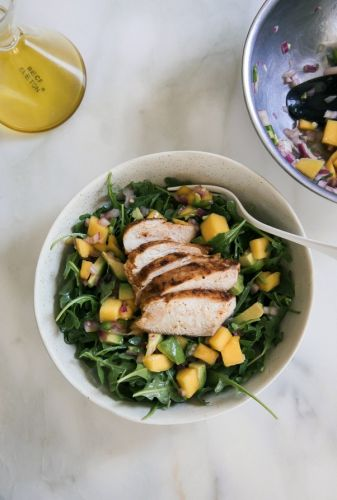 Tangy Chipotle Chicken Mango Salad