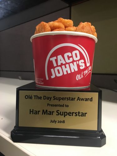 National Blues Artist Har Mar Superstar to Receive World's First Potato Olés Trophy