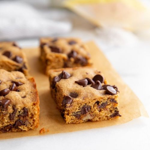 One-bowl GRAIN FREE cookie bars!