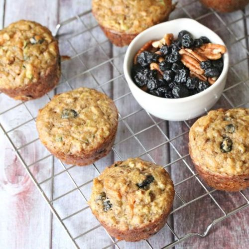 Paleo Morning Glory Muffins-DF/GF