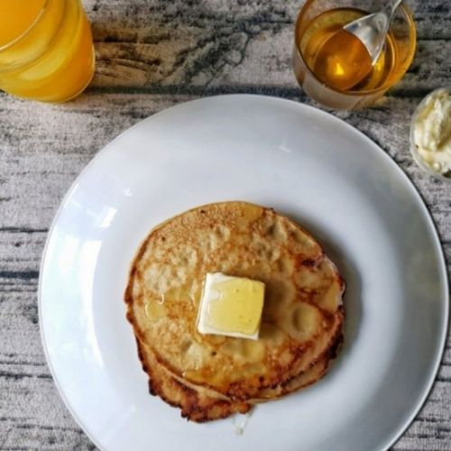 Whole Wheat Blender Pancake