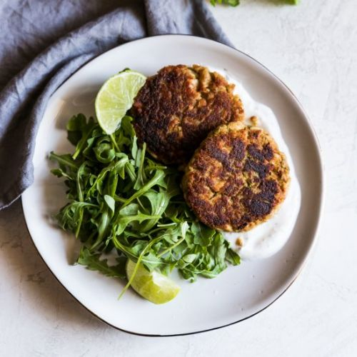 Spicy Lime Tuna Cakes