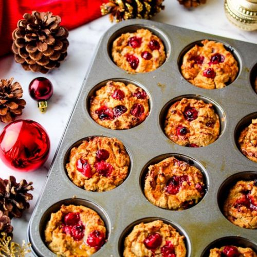 Maple Cranberry Muffins