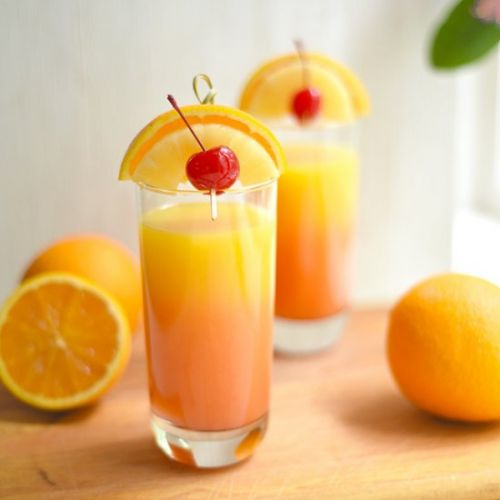 Tropical Tequila Sunrise